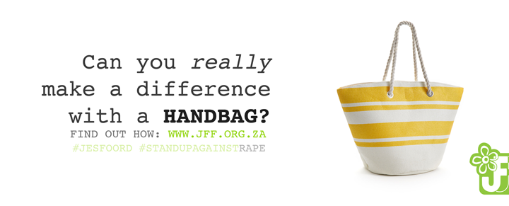 Handbag Project Jes Foord JFF Against Rape